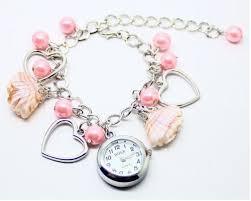 quartz bracelet wrist watches images Fasion women bracelet wrist watch shell pendant bracelet quartz jpg