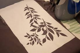 Kitchen Stencils Designs by What Is Freezer Paper Make It And Love It