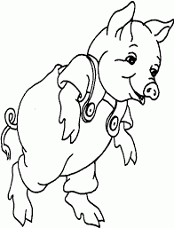 coloring pages of pigs funycoloring