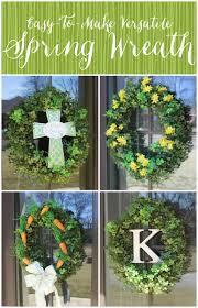 miss kopy kat easy versatile spring wreath