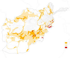 Bagram Air Base Map How Much Of Afghanistan Is Under Taliban Control After 16 Years Of
