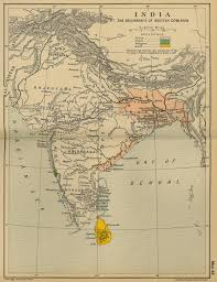 Map Of India by Map Of India 1783