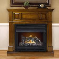 Dual Gas And Wood Burning Fireplace by Darby Home Co Pauline Dual Fuel Vent Free Wall Mount Gas Fireplace