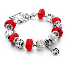diy glass bead bracelet images Murano glass beads crystal 925 silver charm bracelets fun jpg