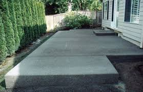 concrete backyard ideas inspirational home and garden design ideas