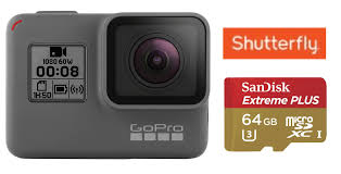 black friday micro sd card gopro hero5 black 4k action camera 64gb sandisk extreme plus