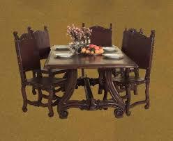 Spanish Colonial Dining Chairs Spanish Furniture Spanish Mediterranean Interiors