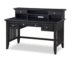 Executive Desk With Hutch Home Styles Arts And Crafts Black Executive Desk With Hutch 5181 152