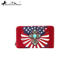 Confederate Flag Wallet Spiritual Wallet Montana West