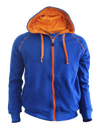 casual warm sweat zip hoodie jumper of orange color hoodie zip up