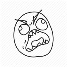 Meme Fuuu - angry derp emotion funny fuuu meme reaction icon icon search