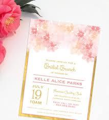 blush and gold bridal shower invitations blush and gold wedding