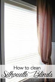 how to clean silhouette blinds ask anna