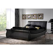 King Size Leather Sleigh Bed Creative Of King Size Leather Sleigh Bed With Leather Sleigh Beds