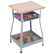 adjustable height heavy duty workstation craft studio and room