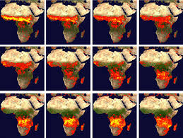 Wildfire Map Manitoba by 2005 Fire Patterns Across Africa Image Of The Day