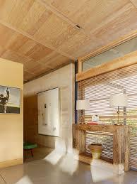 side table caterpillar house in carmel california by feldman