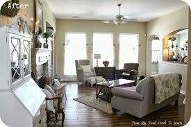 French Livingroom by From My Front Porch To Yours French Farmhouse Living Room Reveal