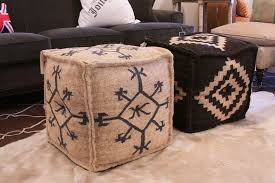 Poufs Ottoman What S In Store Square Pouf Ottomans Ottomans Poufs And Squares