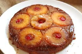 vintage bourbon caramel pineapple upside down cake jessica burns