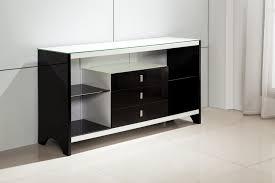 Black Gloss Buffet Sideboard High Gloss White 3 Drawers Buffet Sideboard Tempered Glass Top Ebay