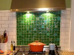 green glass mosaic tile backsplash modern relaxing green glass