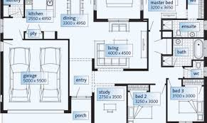 one storey house plans floor plans single storey house home designs custom home building