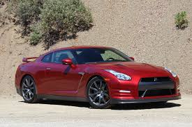 red nissan car 2015 nissan gt r quick drive
