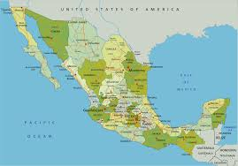 Baja Map Mexico Map Guide Of The World