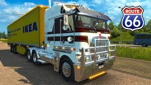 kenworth medium duty trucks kenworth k200 revolution euro truck simulator 2 youtube