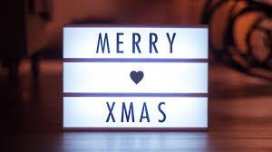 merry light sign free stock photo negativespace