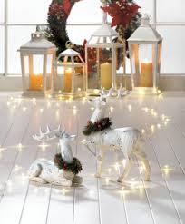home decor statues desk statue blitzen deer figurine reindeer figurines table statue