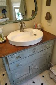 Dresser Turned Bathroom Vanity Diy Dresser To Sink Vanity Dresser Turned Bath Vanity With A