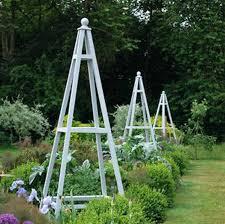Obelisk Trellis Metal Garden Pot Obelisk Trellis Metal More Stainless Steel Garden
