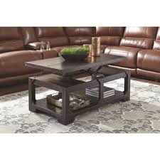 Rustic Brown Coffee Table Signature Design By Coffee Console Sofa End Tables For