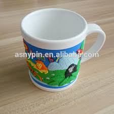 design plastic mug personalized zoo design soft rubber plastic mug for kids gifts buy