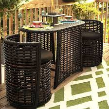 Outdoor Patio Furniture For Small Spaces Best 25 Small Patio Furniture Ideas On Pinterest Apartment For