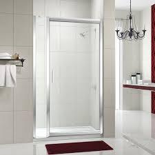 Infold Shower Door Merlyn 8 Series Inline Pivot Shower Door M84421p 900mm