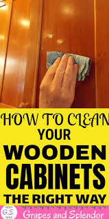 how to clean wood kitchen cabinets without damaging the finish how to clean and remove crease from your wooden kitchen