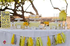 yellow baby shower ideas you are my chevron party baby shower ideas themes