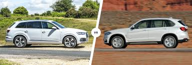 bmw x7 vs audi q7 audi q7 vs bmw x5 luxury suv showdown carwow