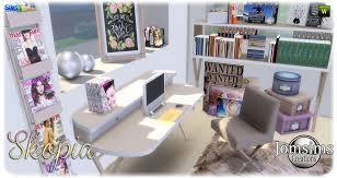 des bureau bureau sims 4