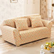 compare prices on orange couches online shopping buy low price orange heart pattern couch sofa covers for living room single loveseat corner sofa slipcovers for home