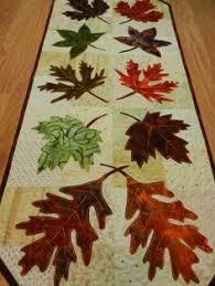 Leaf Table Runner Patchwork Maple Leaf Table Runner Pattern Leaf Table Patchwork