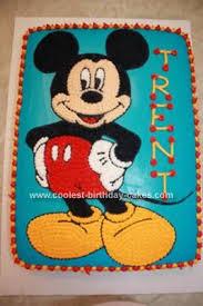25 mickey mouse birthday cakes ideas mickey