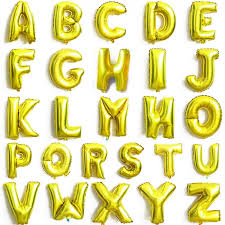 balloon letters 32 alphabet letter foil balloon birthday party wedding decoration