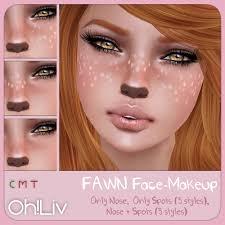Bambi Halloween Makeup by Fawn Makeup Google Search Inspiration Pinterest Sims