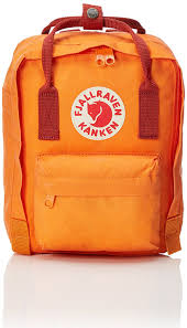 What Color Is An Orange Amazon Com Fjallraven Kanken Mini Classic Pack Heritage And