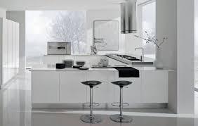 cuisine blanc brillant cuisine modele reflet blanc brillant design idées déco pas cher