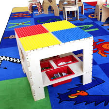 duplo preschool play table play table duplo activity tables table and chair set